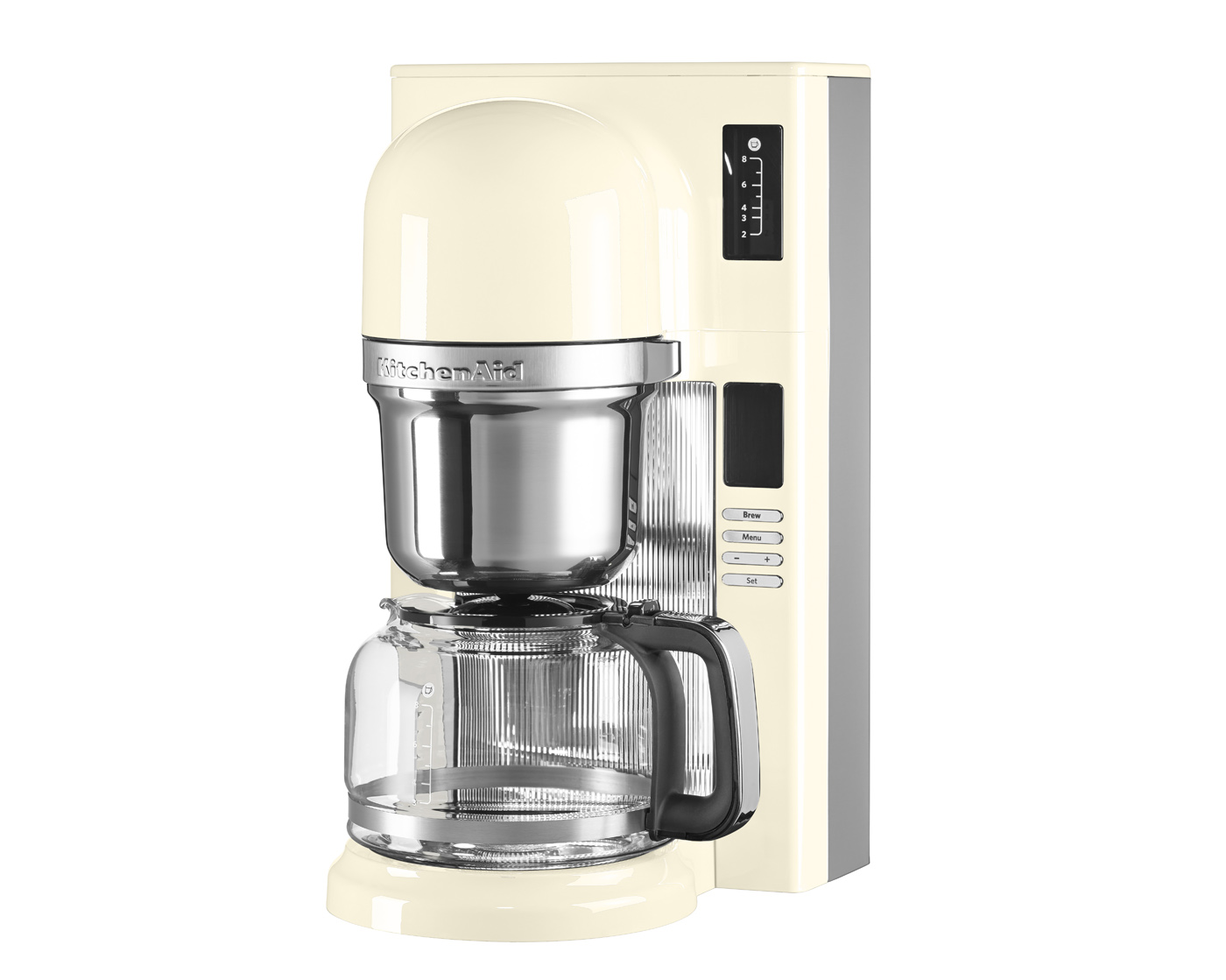KitchenAid Pour Over Kaffebryggare 1,25L (Creme)